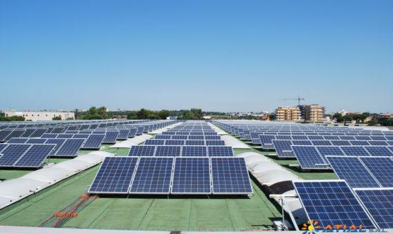 Impianto fotovoltaico Pomezia-250kw-2
