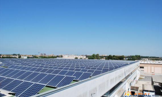 Pannelli fotovoltaici a Pomezia