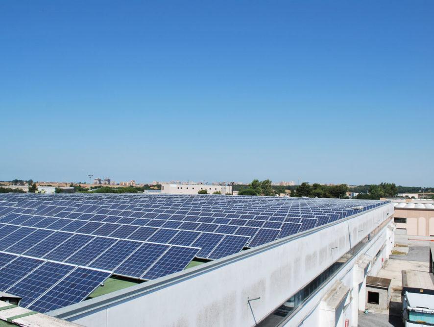 impianto fotovoltaico Pomezia