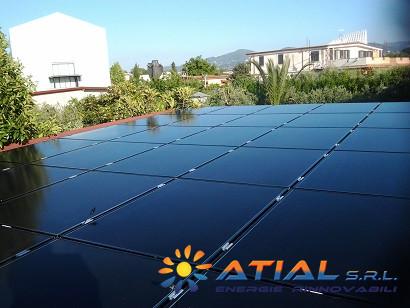 Pannelli solari a Roma